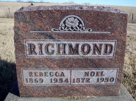 RICHMOND, REBECCA - Worth County, Missouri   REBECCA RICHMOND - Missouri Gravestone Photos