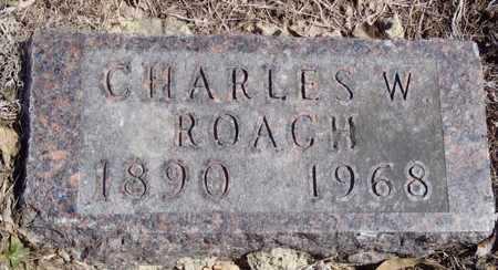 ROACH, CHARLES W. - Worth County, Missouri   CHARLES W. ROACH - Missouri Gravestone Photos