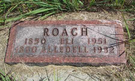ROACH, ALLEDELL - Worth County, Missouri | ALLEDELL ROACH - Missouri Gravestone Photos