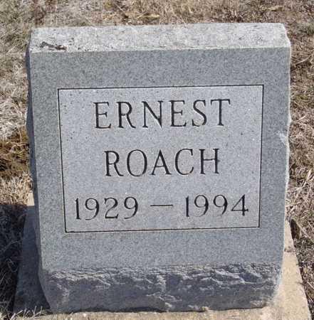 ROACH, ERNEST - Worth County, Missouri | ERNEST ROACH - Missouri Gravestone Photos