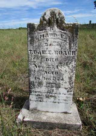 ROACH, MAUD E. - Worth County, Missouri | MAUD E. ROACH - Missouri Gravestone Photos