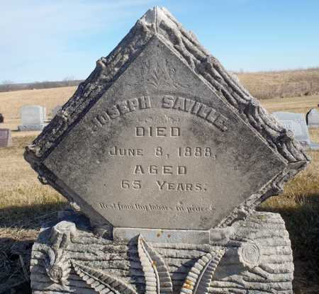 SAVILLE, JOSEPH - Worth County, Missouri | JOSEPH SAVILLE - Missouri Gravestone Photos