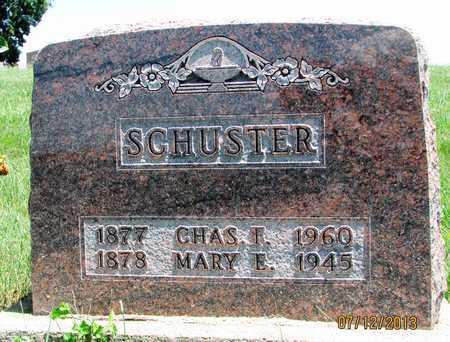 SCHUSTER, CHARLES F - Worth County, Missouri   CHARLES F SCHUSTER - Missouri Gravestone Photos