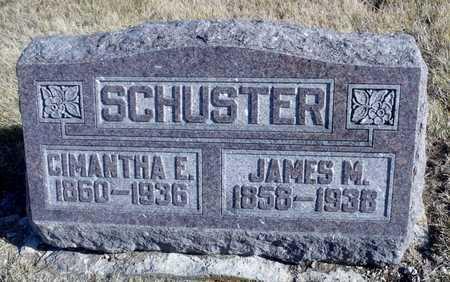 SCHUSTER, CIMANTHA E. - Worth County, Missouri | CIMANTHA E. SCHUSTER - Missouri Gravestone Photos