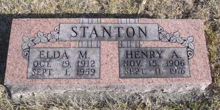 STANTON, HENRY A. - Worth County, Missouri   HENRY A. STANTON - Missouri Gravestone Photos
