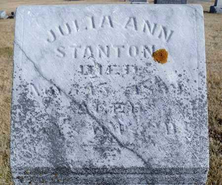 NELSON STANTON, JULIA ANN - Worth County, Missouri   JULIA ANN NELSON STANTON - Missouri Gravestone Photos