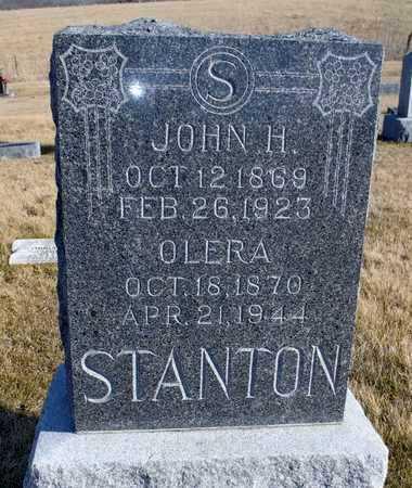 STANTON, JOHN H. - Worth County, Missouri   JOHN H. STANTON - Missouri Gravestone Photos
