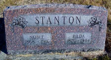 STANTON, NOBLE RUFUS - Worth County, Missouri | NOBLE RUFUS STANTON - Missouri Gravestone Photos