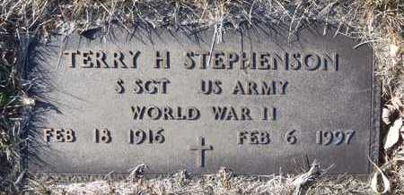 STEPHENSON, TERRY H. (VETERAN WWII) - Worth County, Missouri | TERRY H. (VETERAN WWII) STEPHENSON - Missouri Gravestone Photos