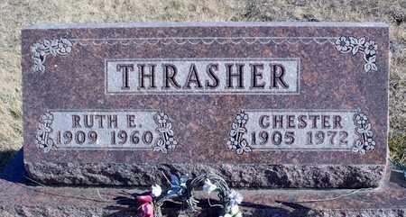 PARMAN TRASHER, RUTH ELVINA - Worth County, Missouri | RUTH ELVINA PARMAN TRASHER - Missouri Gravestone Photos