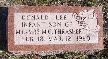 THRASHER, DONALD LEE - Worth County, Missouri | DONALD LEE THRASHER - Missouri Gravestone Photos