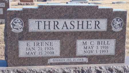 LAW THRASHER, E. IRENE - Worth County, Missouri | E. IRENE LAW THRASHER - Missouri Gravestone Photos