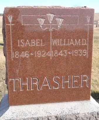 CORBIT THRASHER, ISABEL - Worth County, Missouri | ISABEL CORBIT THRASHER - Missouri Gravestone Photos