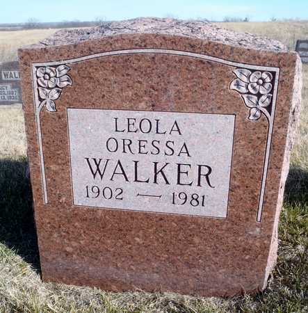 WALKER, LEOLA ORESSA - Worth County, Missouri   LEOLA ORESSA WALKER - Missouri Gravestone Photos