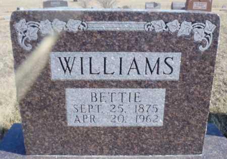 "BROOKSHIRE WILLIAMS, ELIZABETH ""BETTIE"" - Worth County, Missouri   ELIZABETH ""BETTIE"" BROOKSHIRE WILLIAMS - Missouri Gravestone Photos"