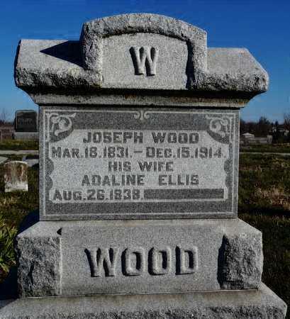 WOOD, JOSEPH - Worth County, Missouri | JOSEPH WOOD - Missouri Gravestone Photos
