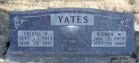 YATES, WILMER W. - Worth County, Missouri | WILMER W. YATES - Missouri Gravestone Photos