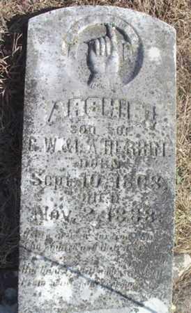 HERRIN, ARCHIE - Wright County, Missouri | ARCHIE HERRIN - Missouri Gravestone Photos