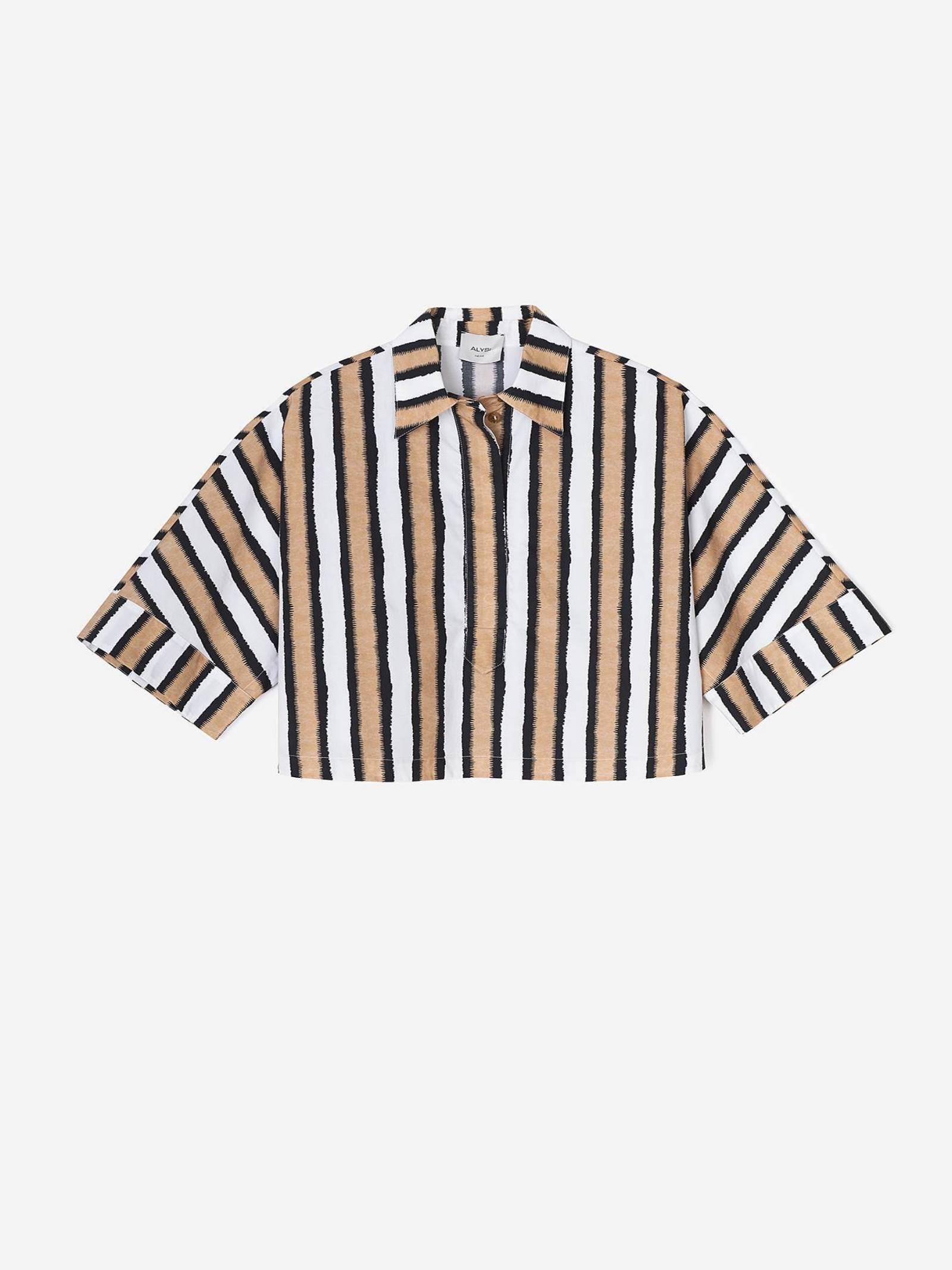 Camicia boxy Alysi   Camicia   101222-P1024CRETA
