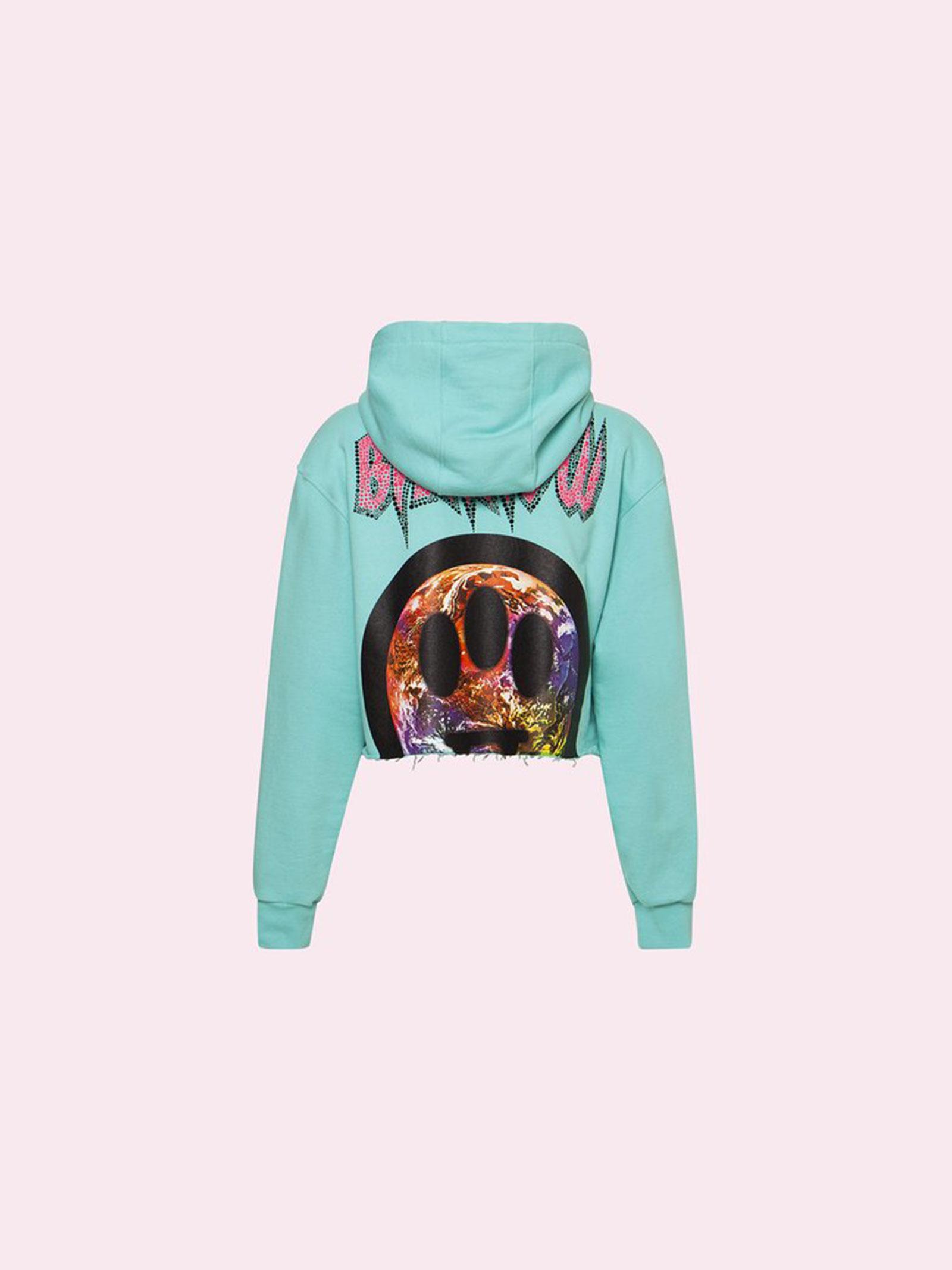 Cropped hoodie Barrow | Felpa | 029450114