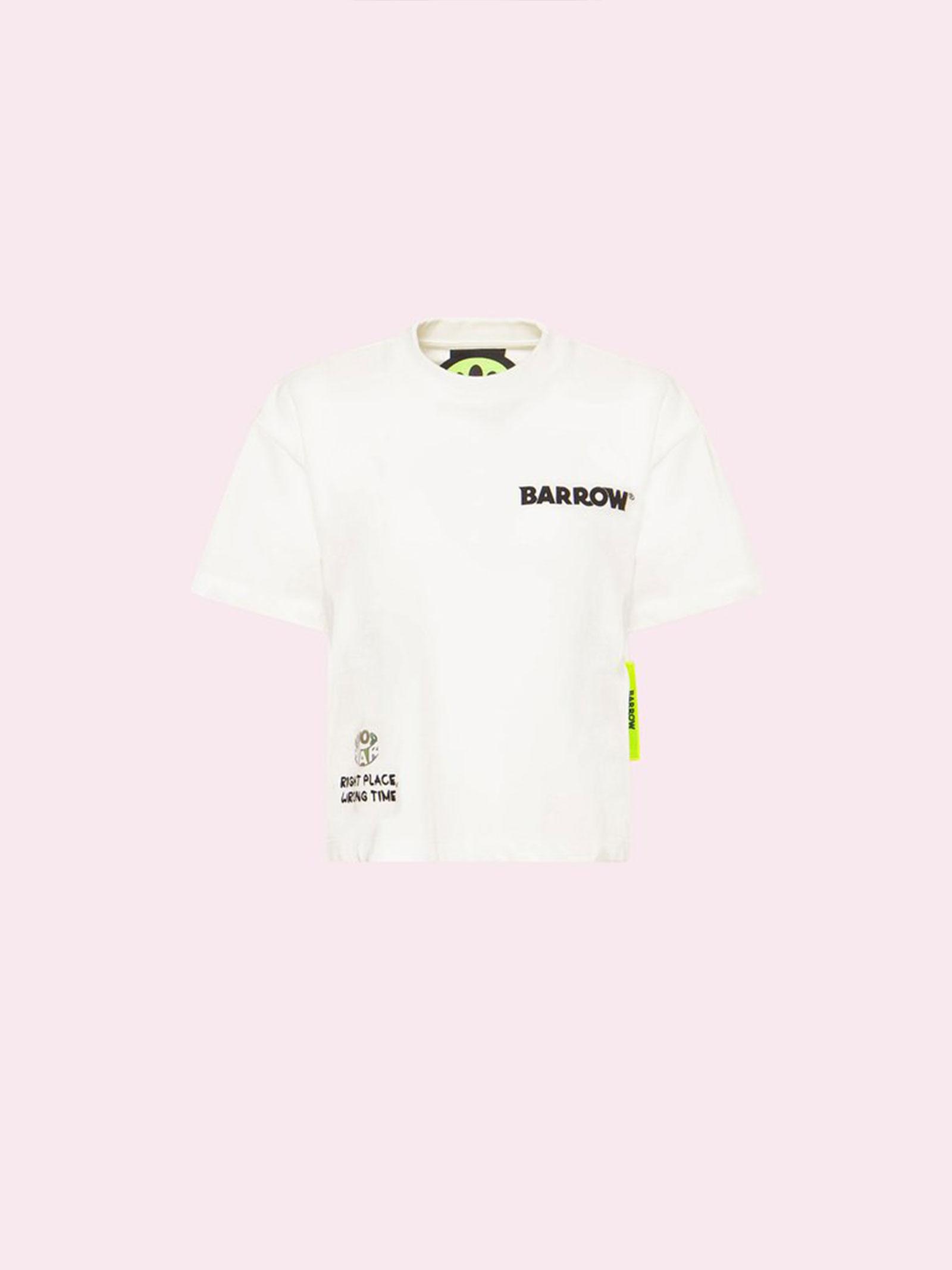 Cropped t-shirt Barrow   T-shirt   029451002