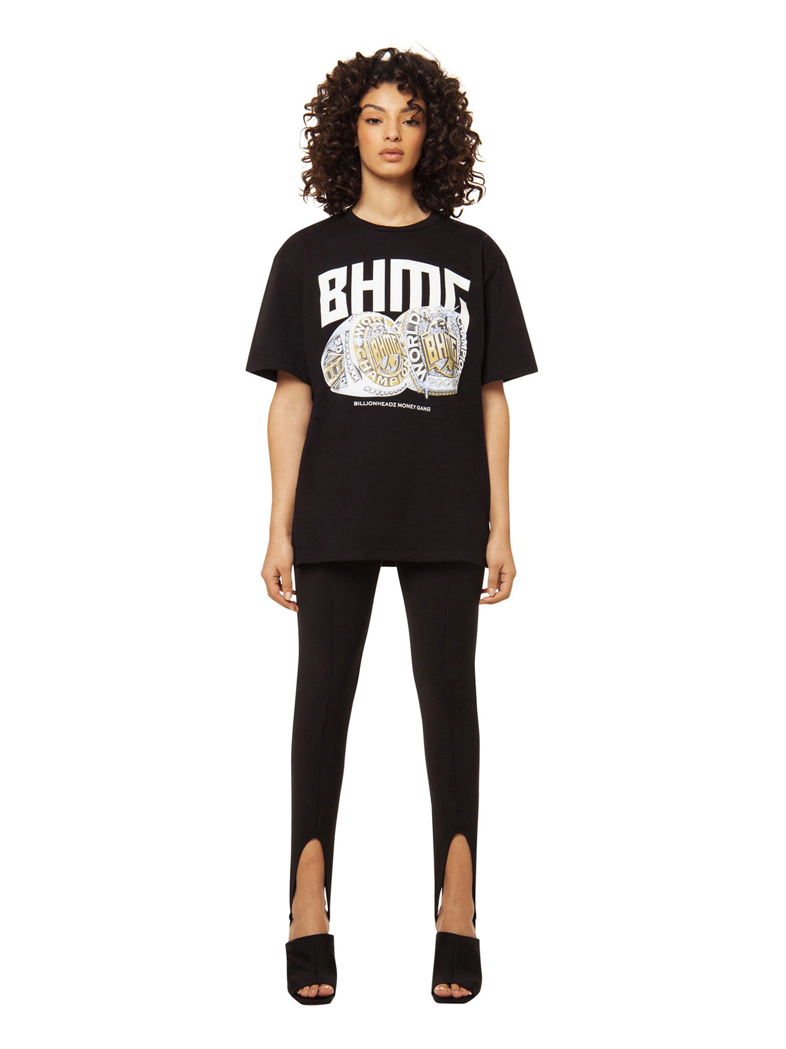 T-shirt stampata BHMG   T-shirt   029111NERO
