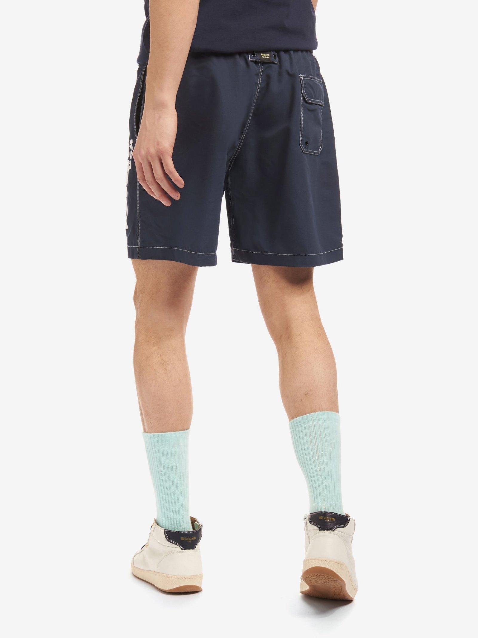beachwear boxer Blauer   Costume   21SBLUN02431-006012802