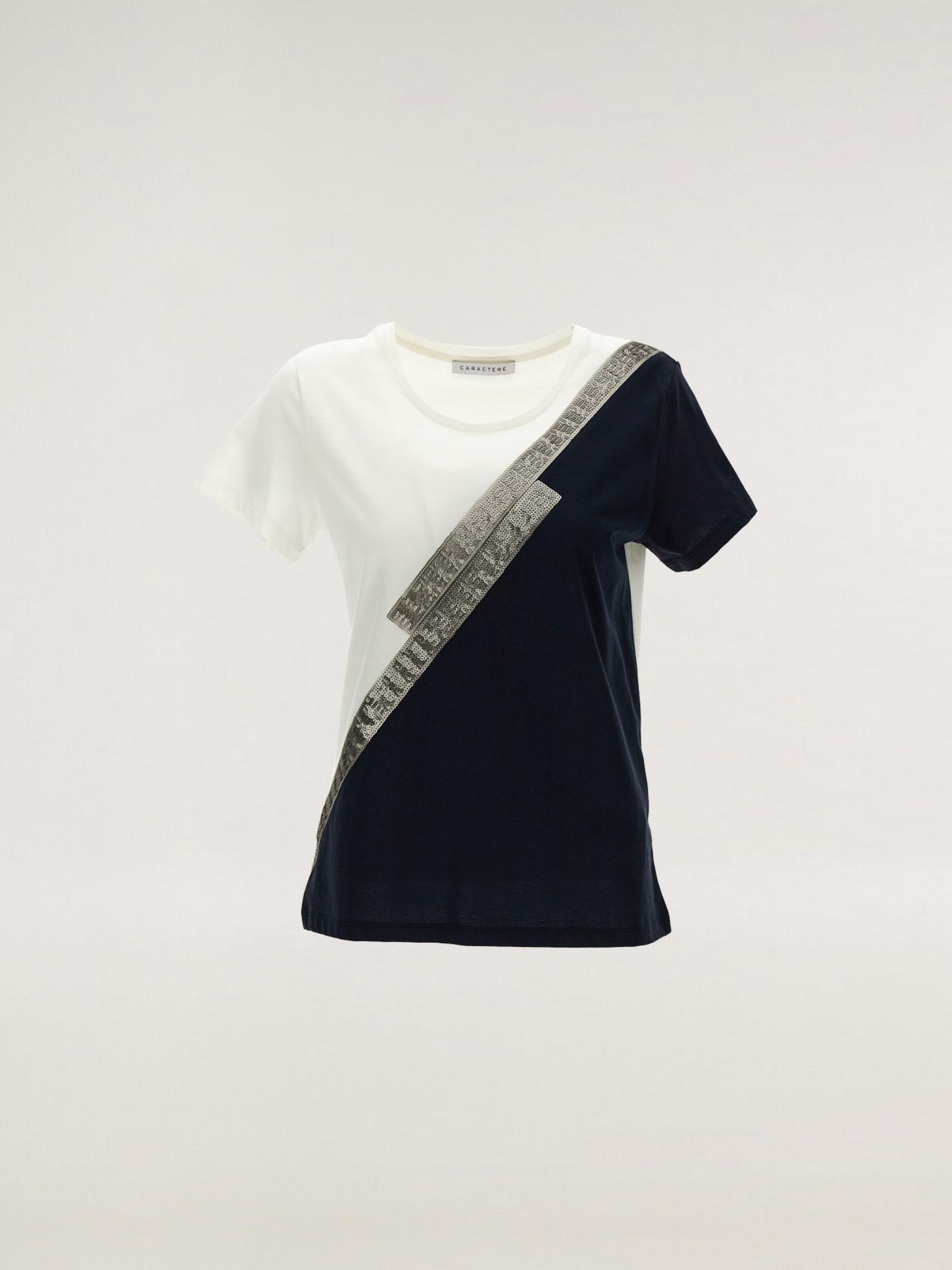 T-shirt block color Caractère   T-shirt   G122D0-88B502