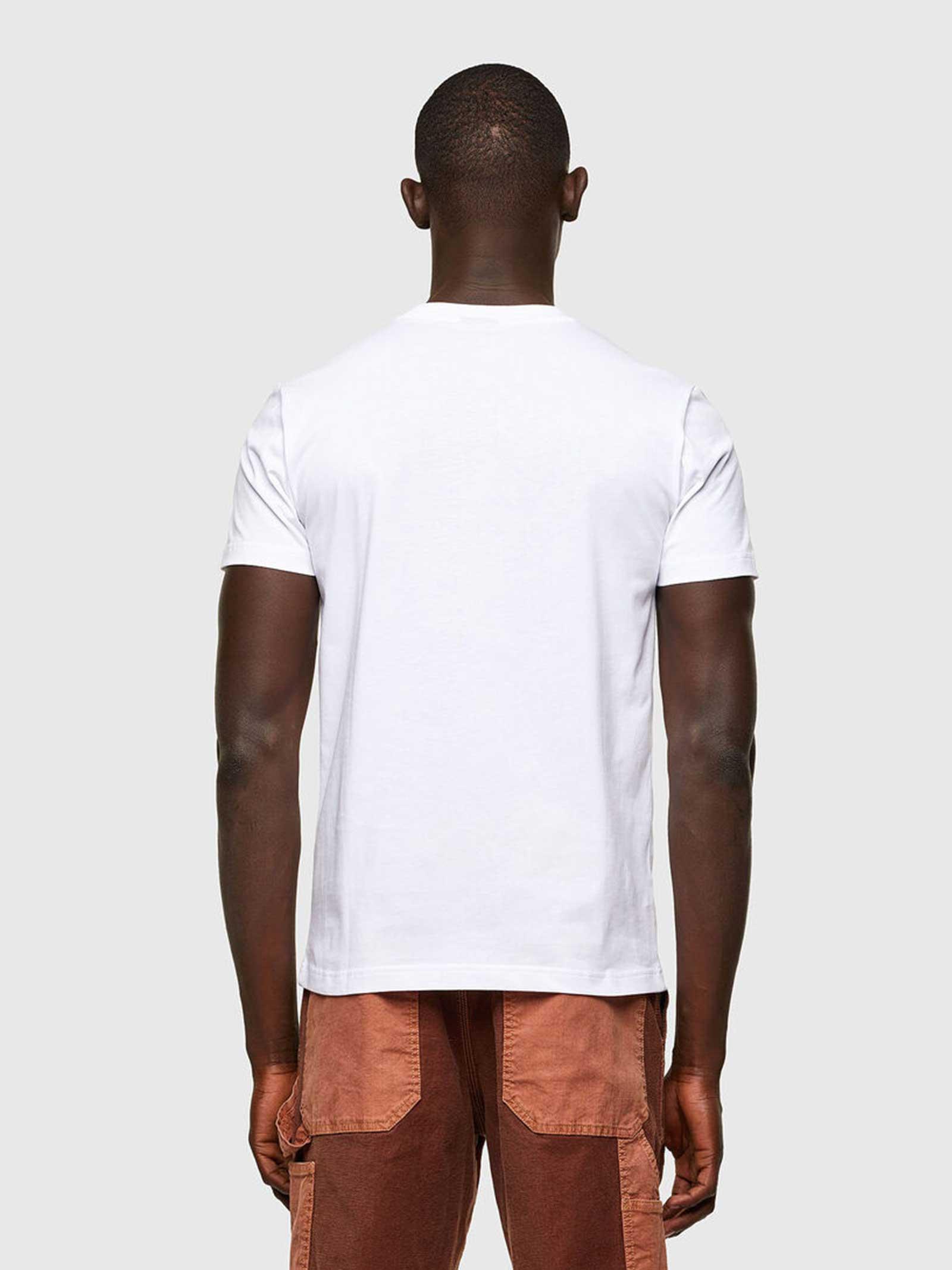 T-Shirt T-diegos Diesel   T-shirt   A01721-0QBAE100