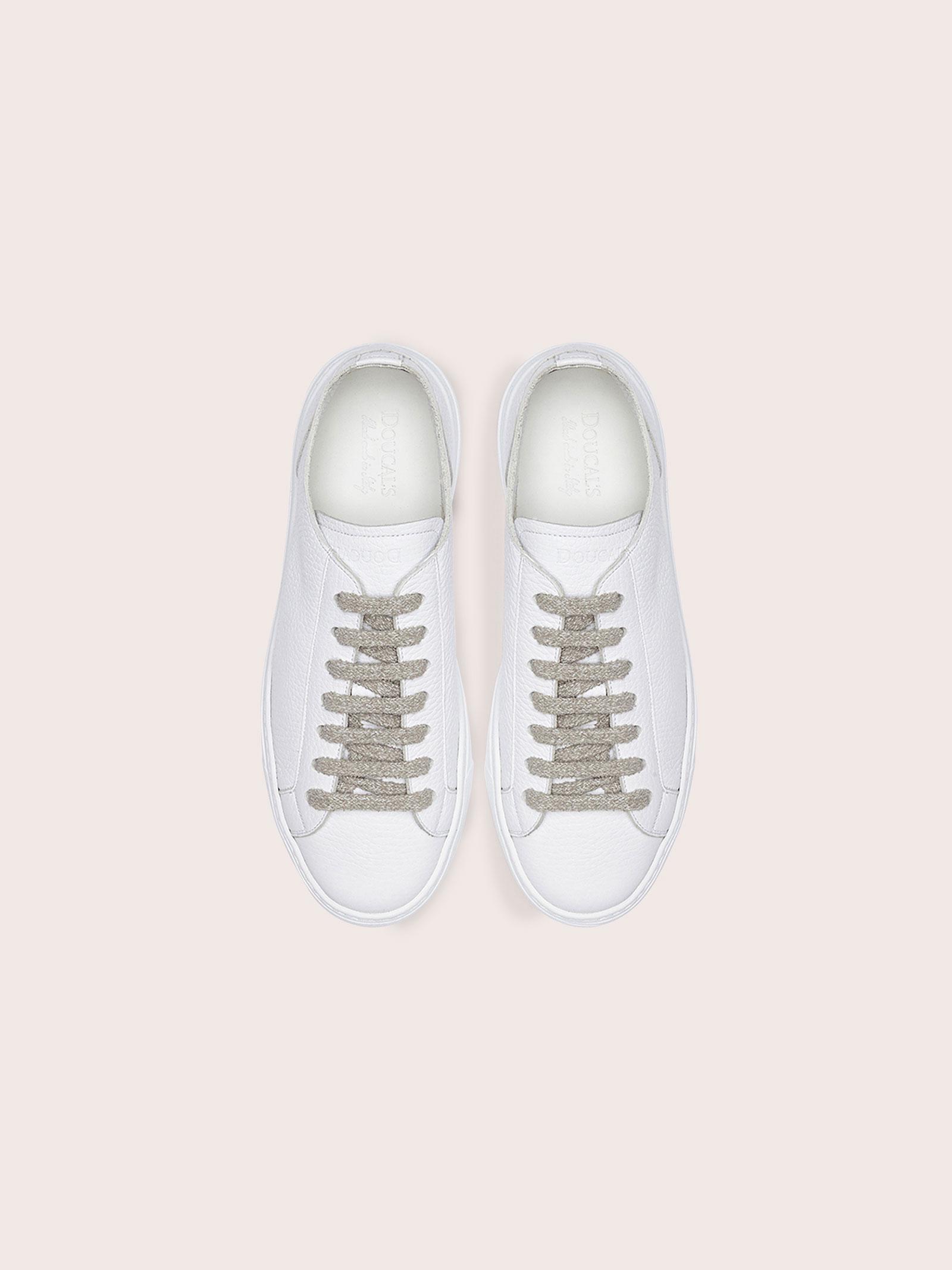 sneakers bassa Doucal's | Sneakers | DD8321RIBEUZ109IW00NOVA-BN+BN