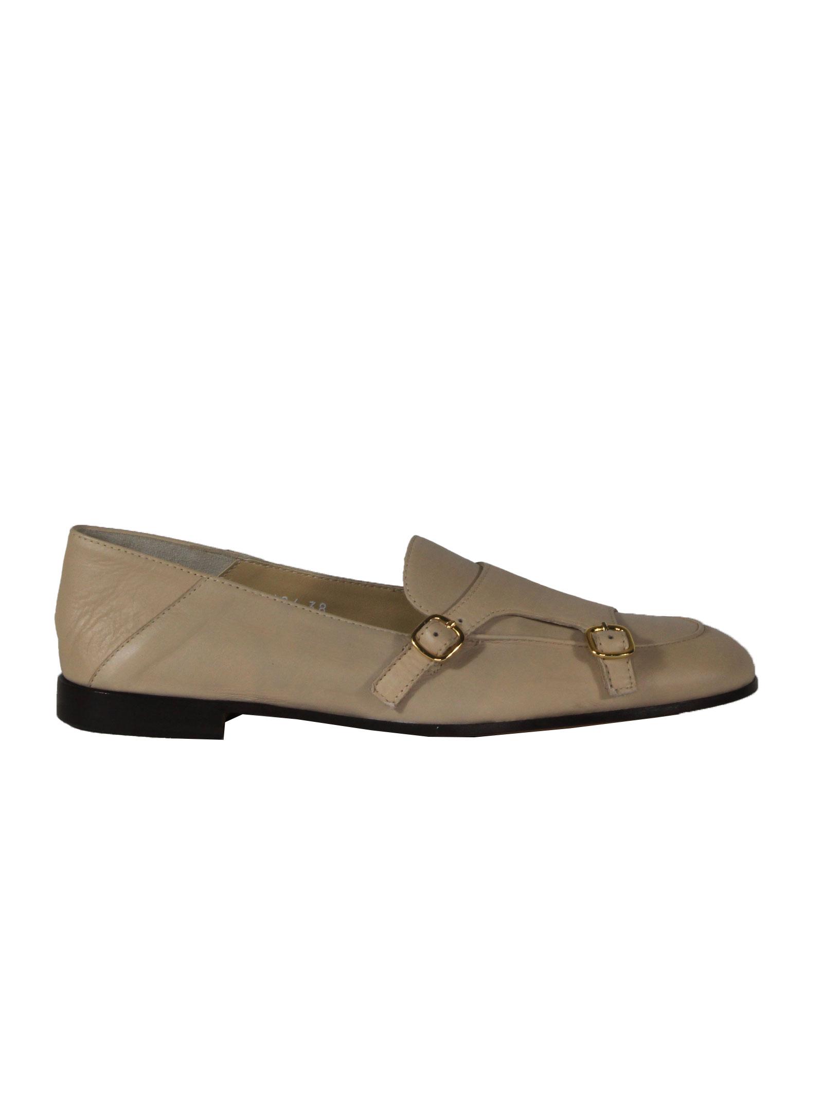 Pantofola con fibbia Doucal's | Mocassini | DD8494MEGAUF198TW01NAIROBI-BG+MR