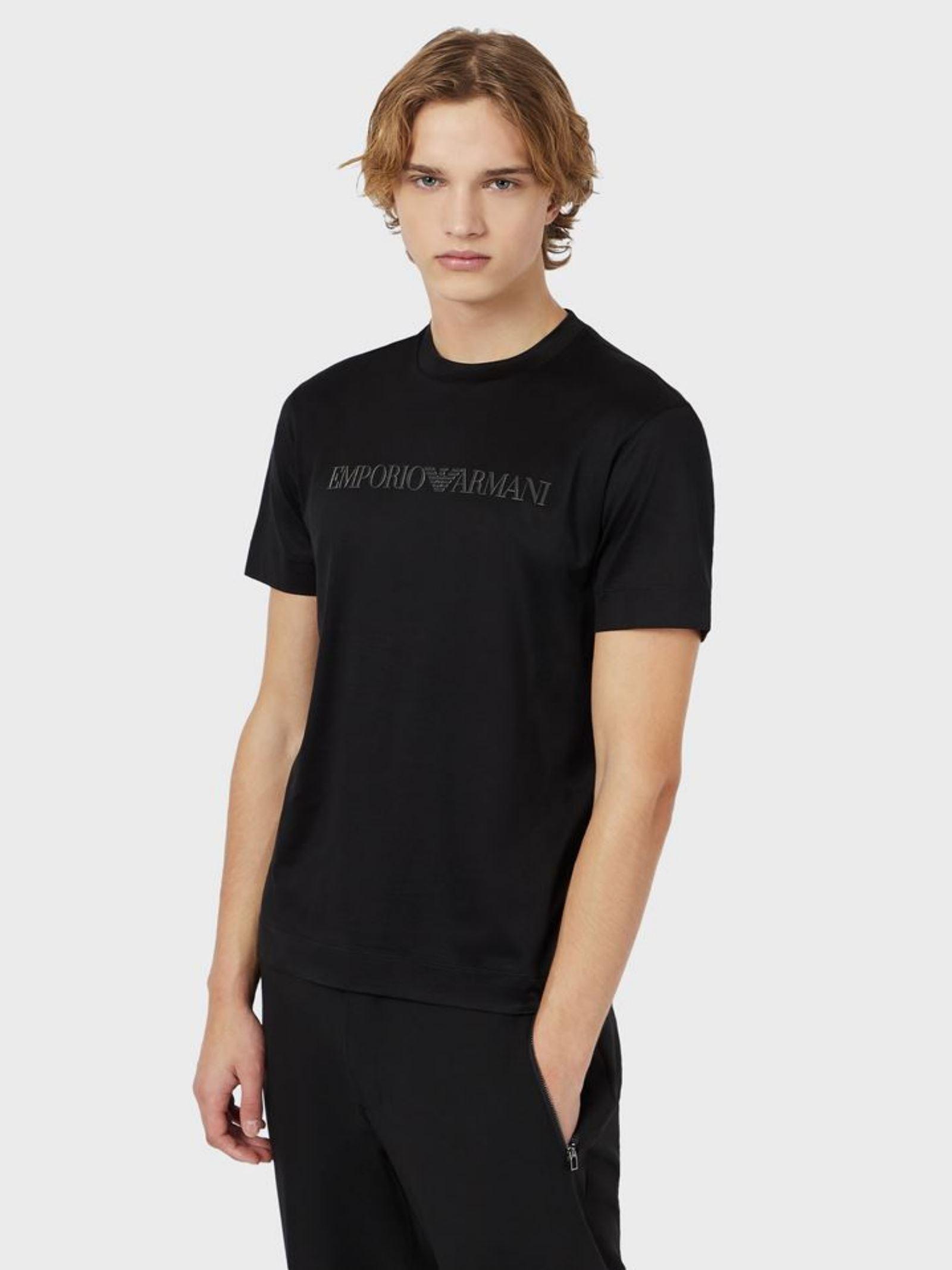 T-Shirt Tencel Emporio Armani   T-shirt   3K1TAG-1JUVZ0035