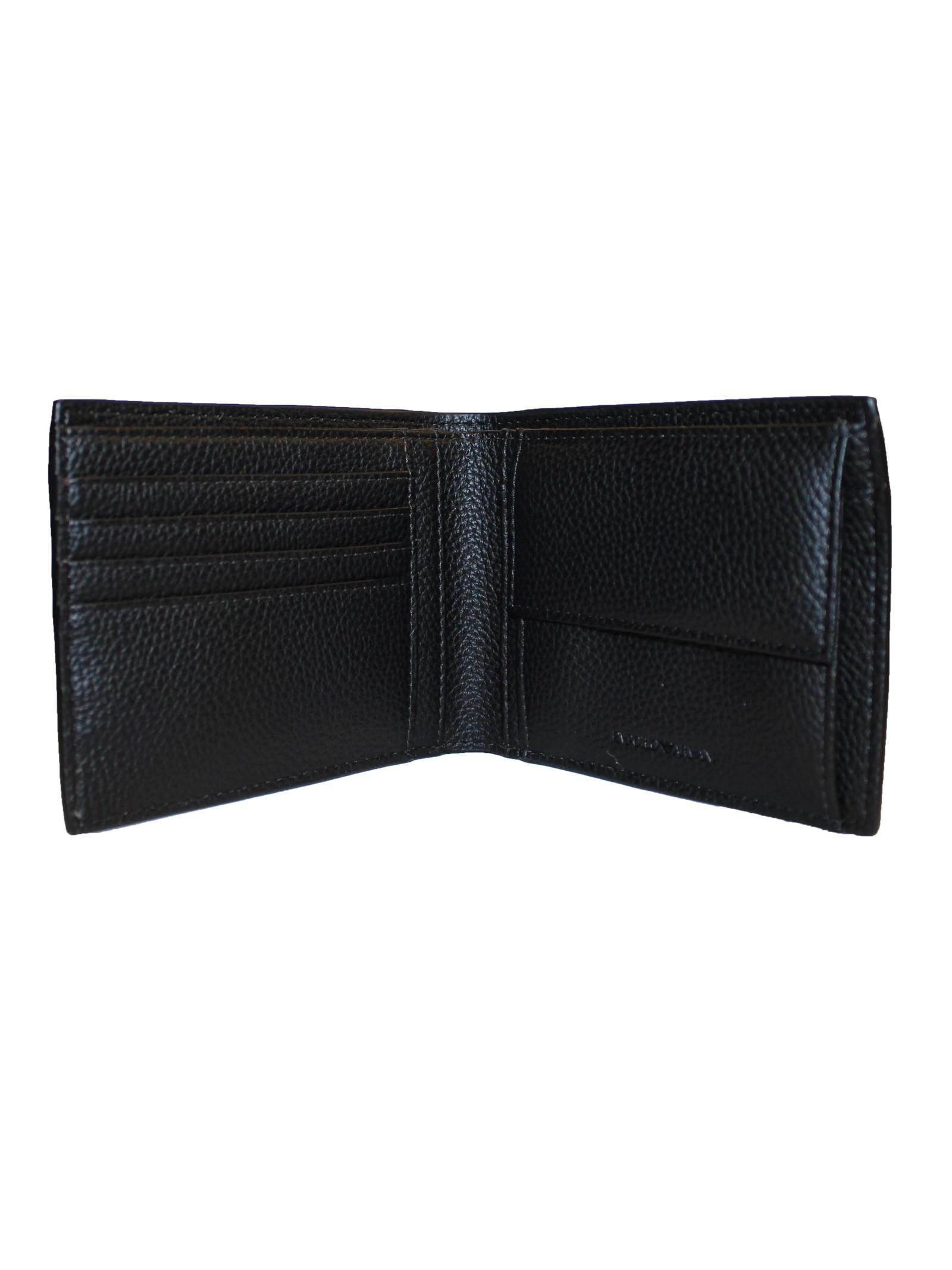 Portafoglio bi-fold Emporio Armani   Portafogli   Y4R165-YG89JNERO