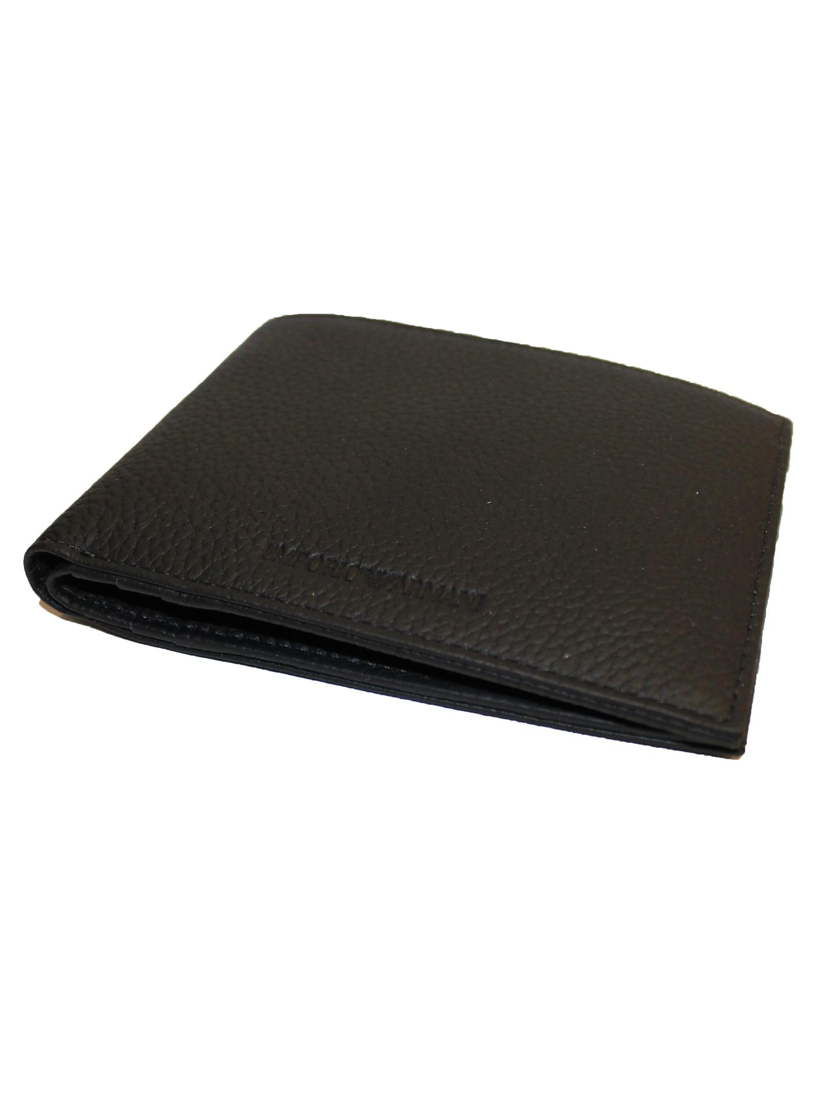 Portafoglio bi-fold Emporio Armani   Portafogli   Y4R166-YDB9ENERO