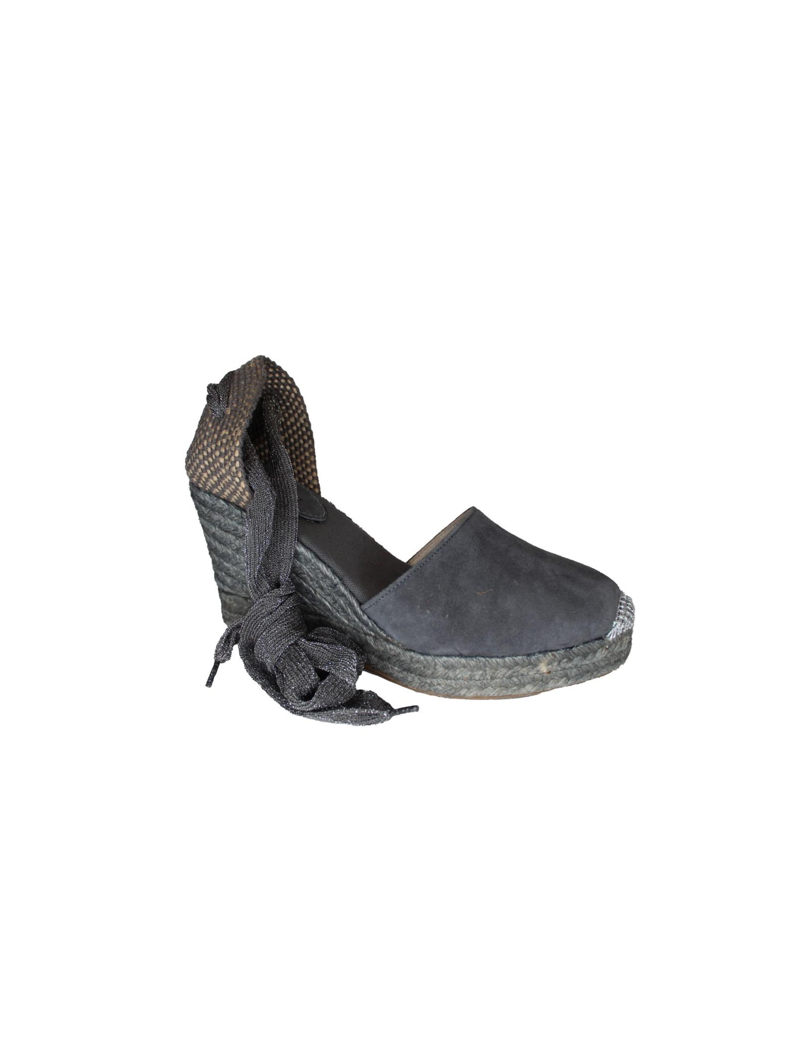 Scarpa con allacciatura in tessuto Lagoa | Scarpe | MELILLALAVAGNA