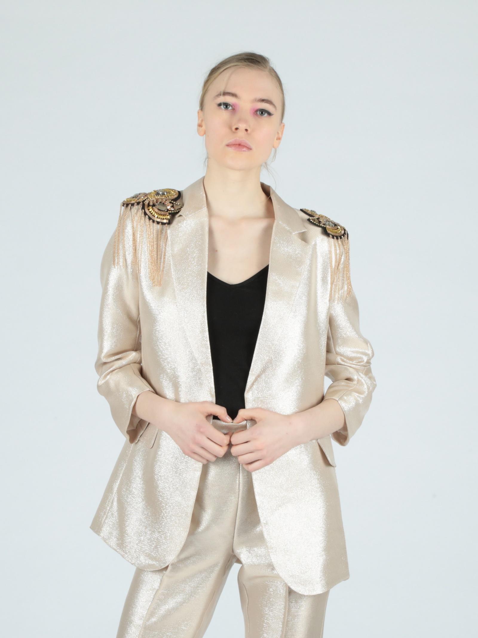 golden jacket Le Volière   Jacket   WS21C059GGOLD