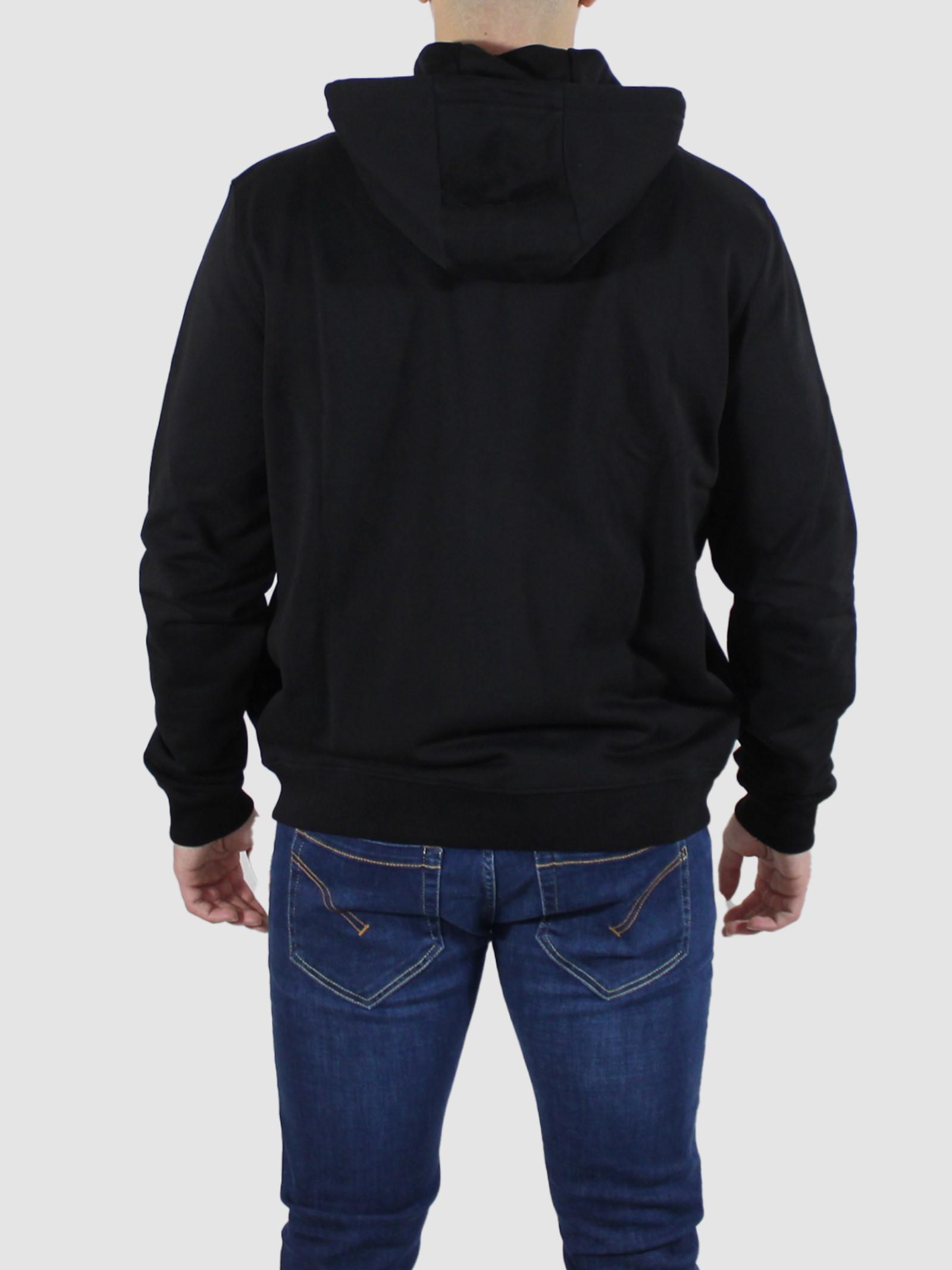 hoodie nylon pocket Les Hommes   Felpa   LKH403756A9000