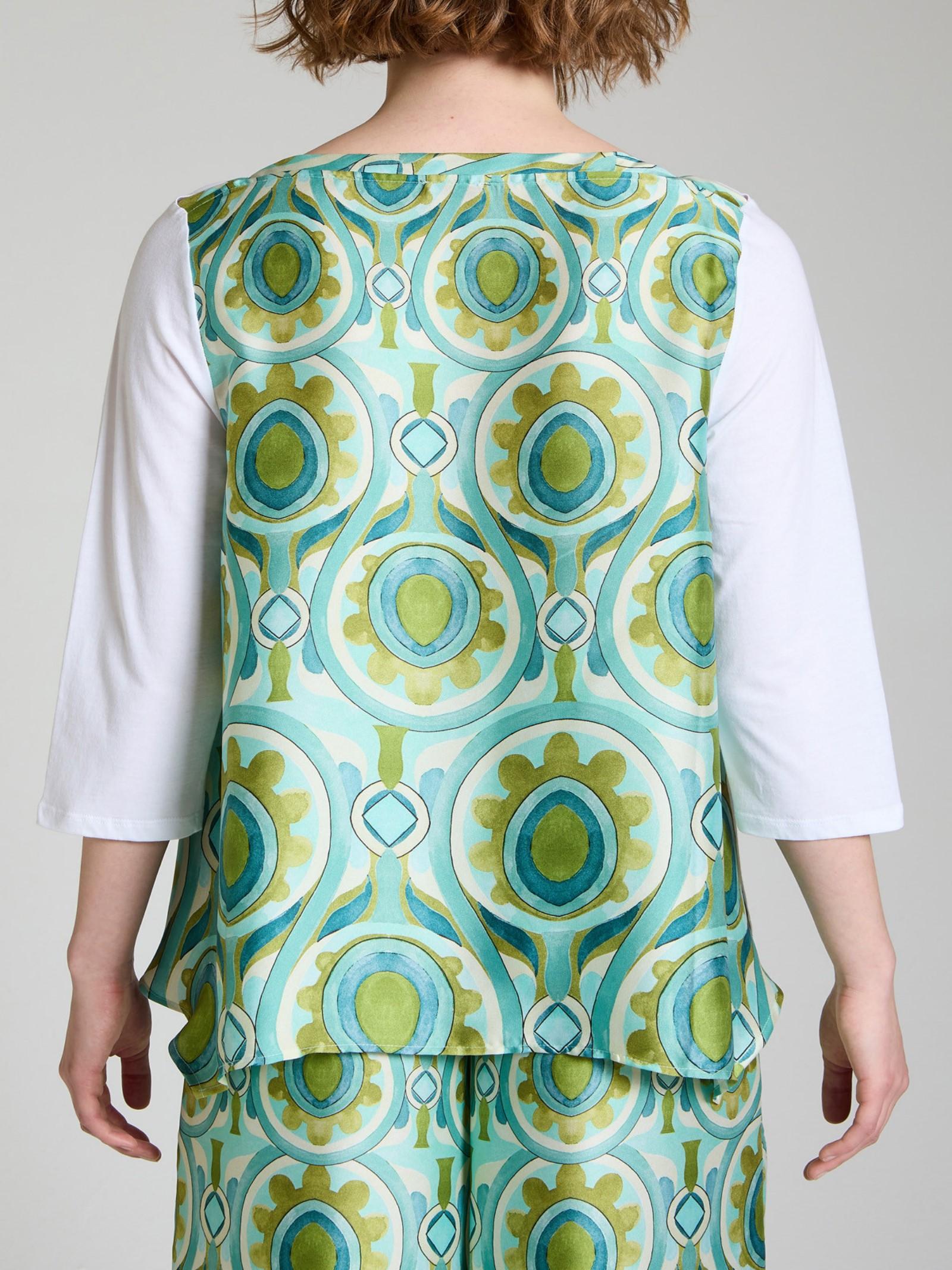 t-shirt jersey patch Maliparmi | T-shirt | JK0206-704951000
