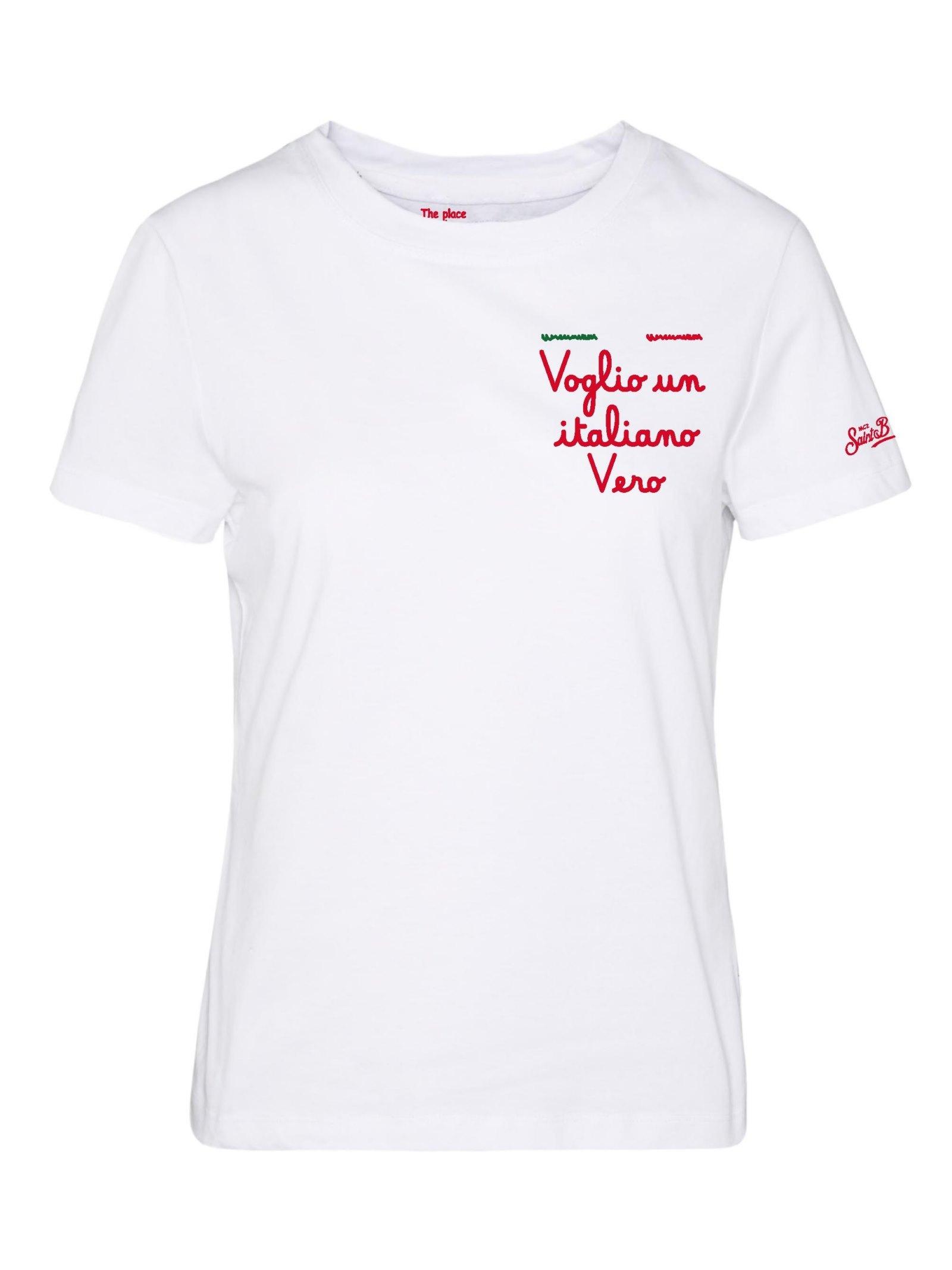 emilie t-shirt MC2 Saint Barth   T-shirt   EMI0001EBVI01