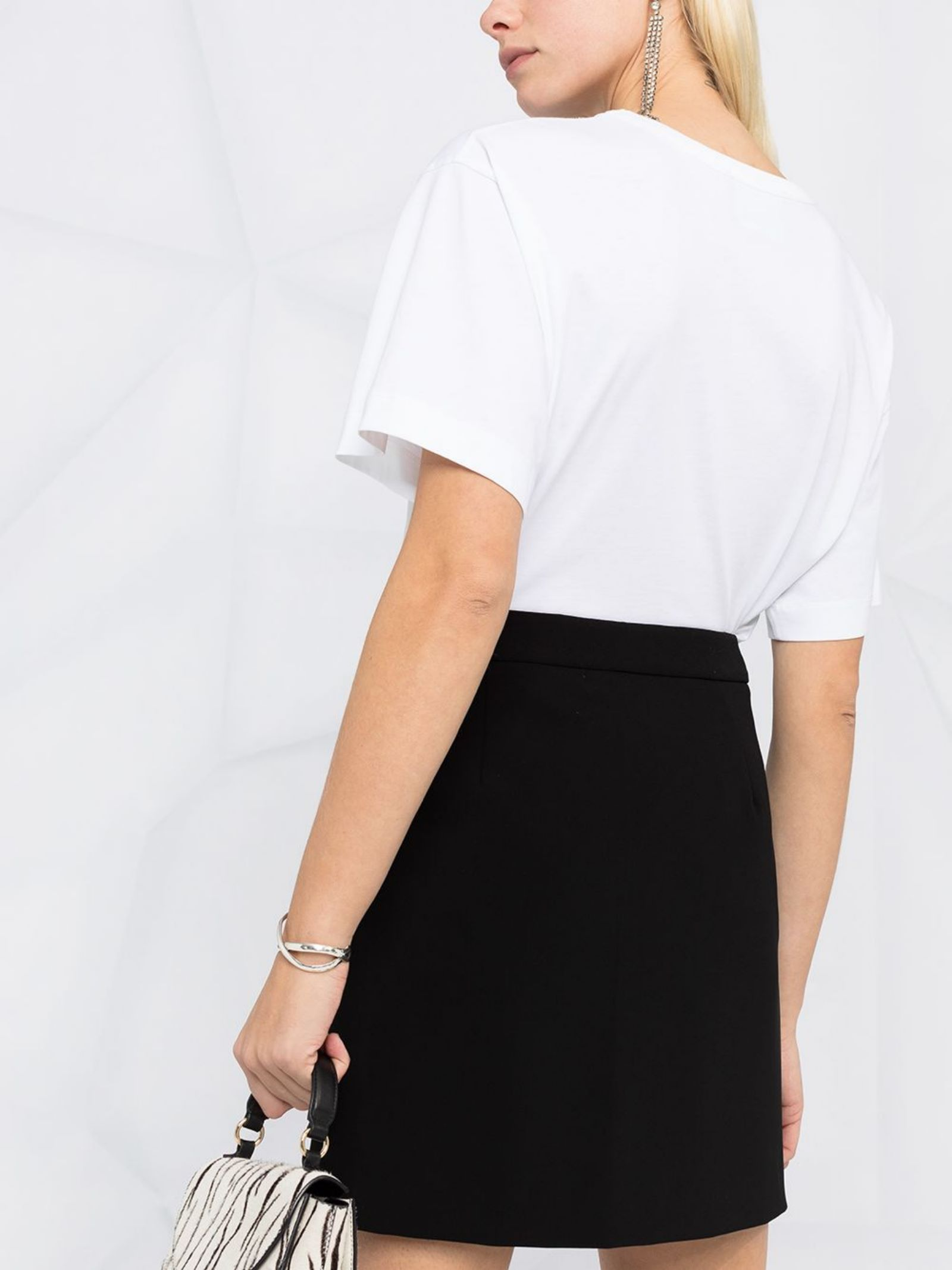 T-shirt con stampa Moschino Boutique   T-shirt   12054001