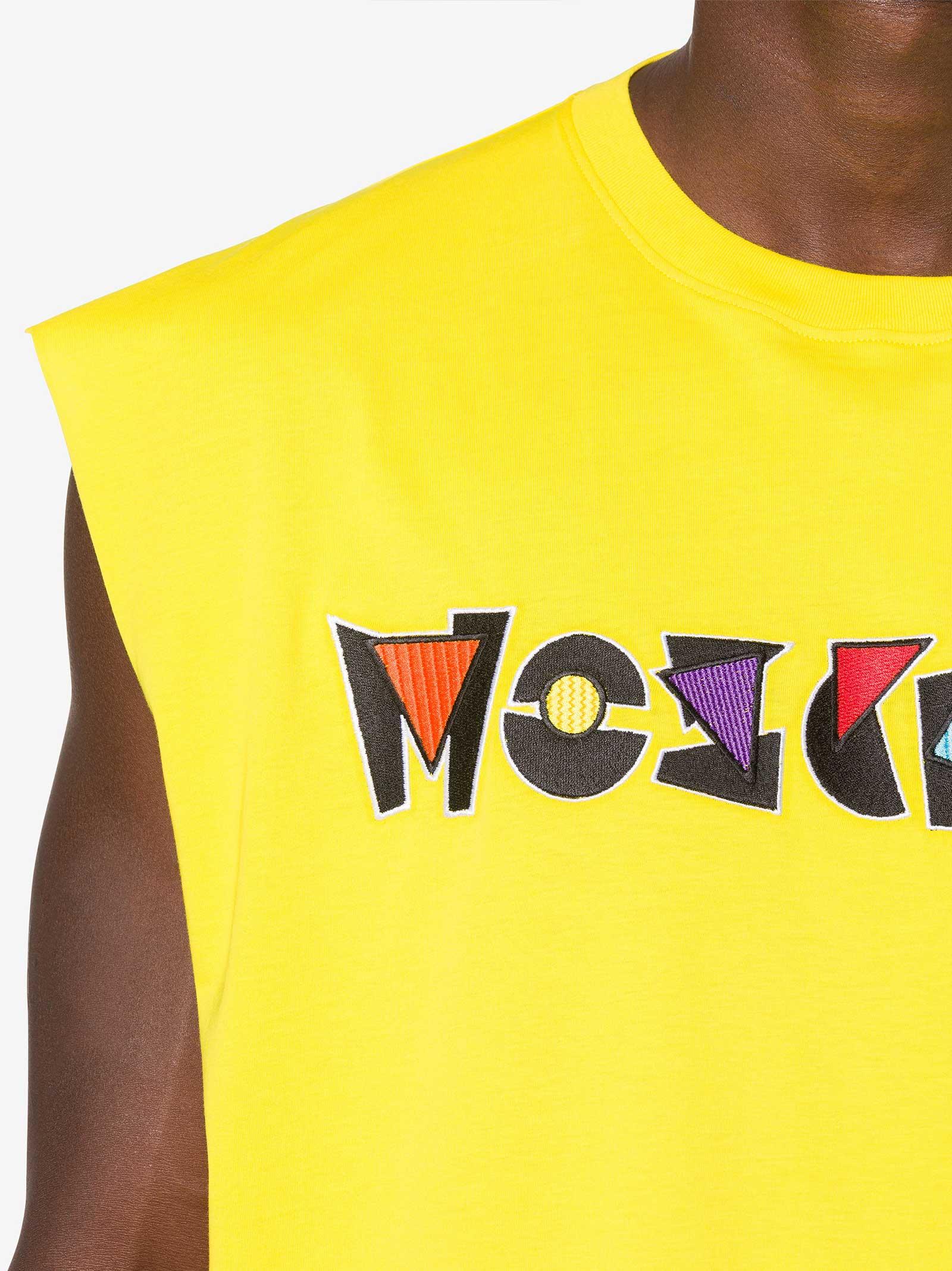 T-Shirt Smanicata Moschino Couture   T-shirt   07071027