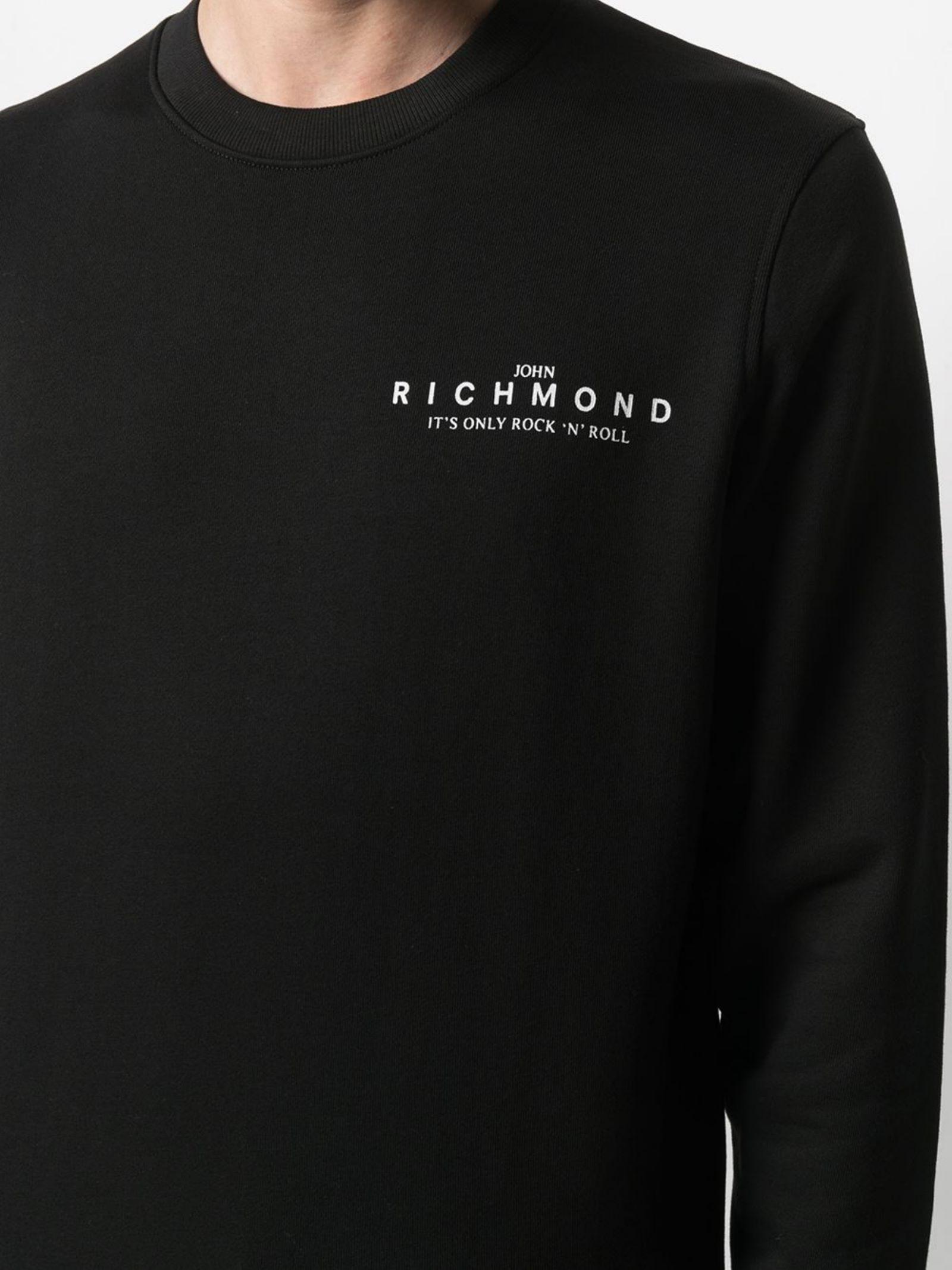 Felpa Kinson John Richmond | Felpa | RMP21206FEXXNR