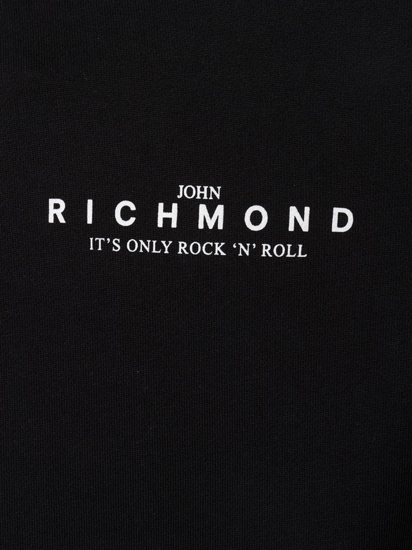 Felpa Atikin John Richmond   Felpa   RMP21207FEXXNERO