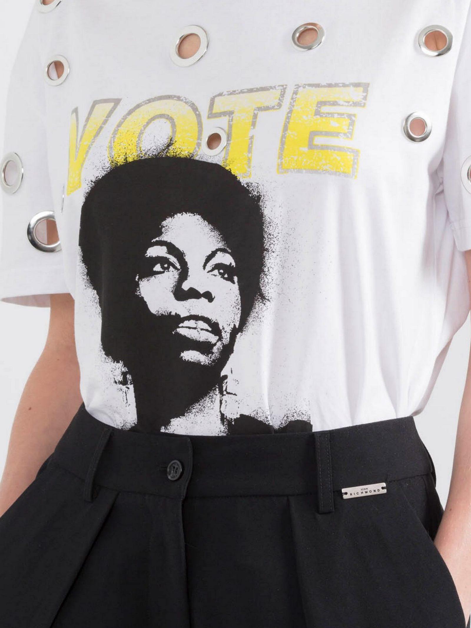 T-shirt grugwin John Richmond | T-shirt | RWP21099TSHBBIANCO