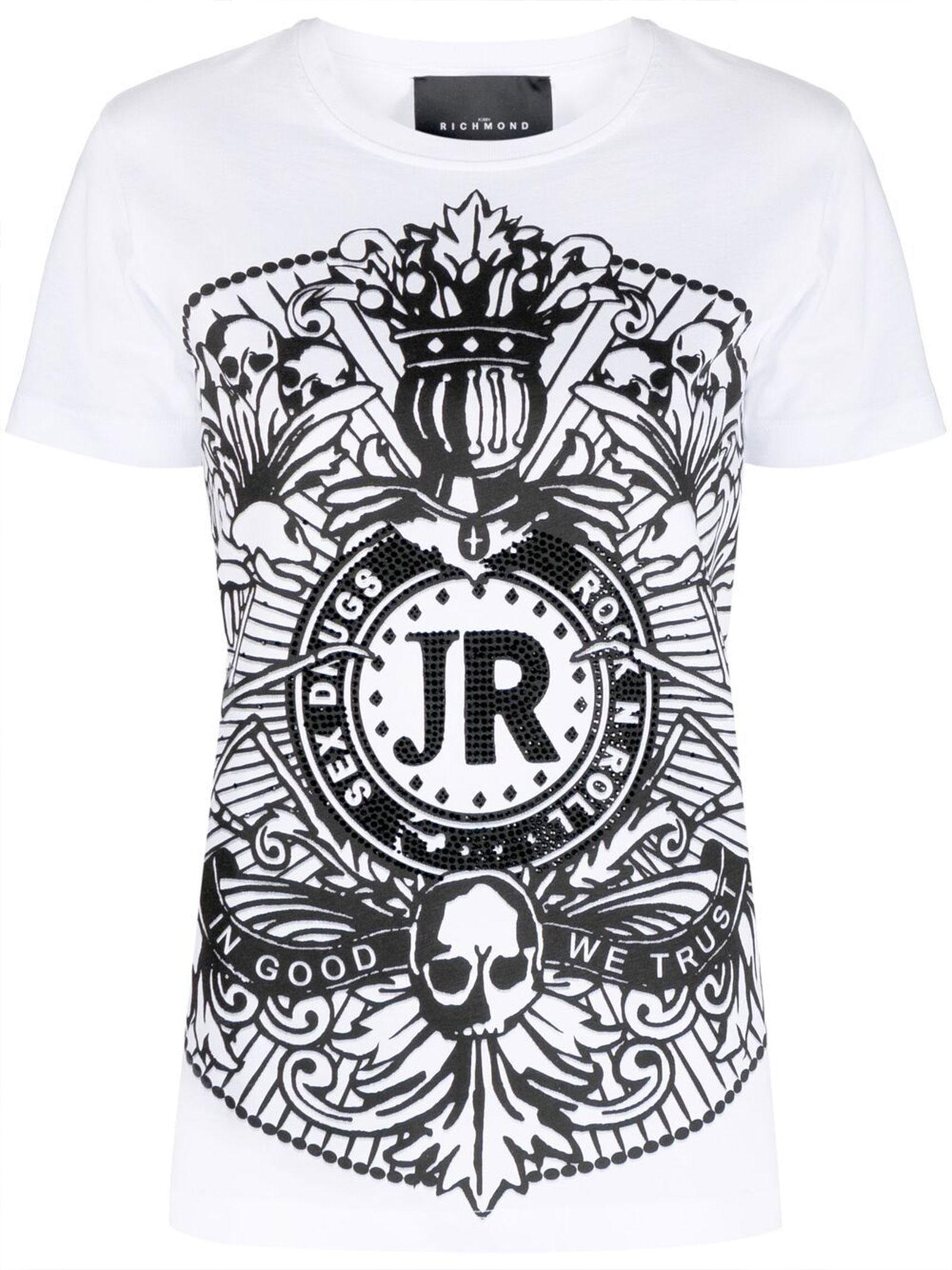 T-Shirt Dodige John Richmond   T-shirt   RWP21103TSA8W0150