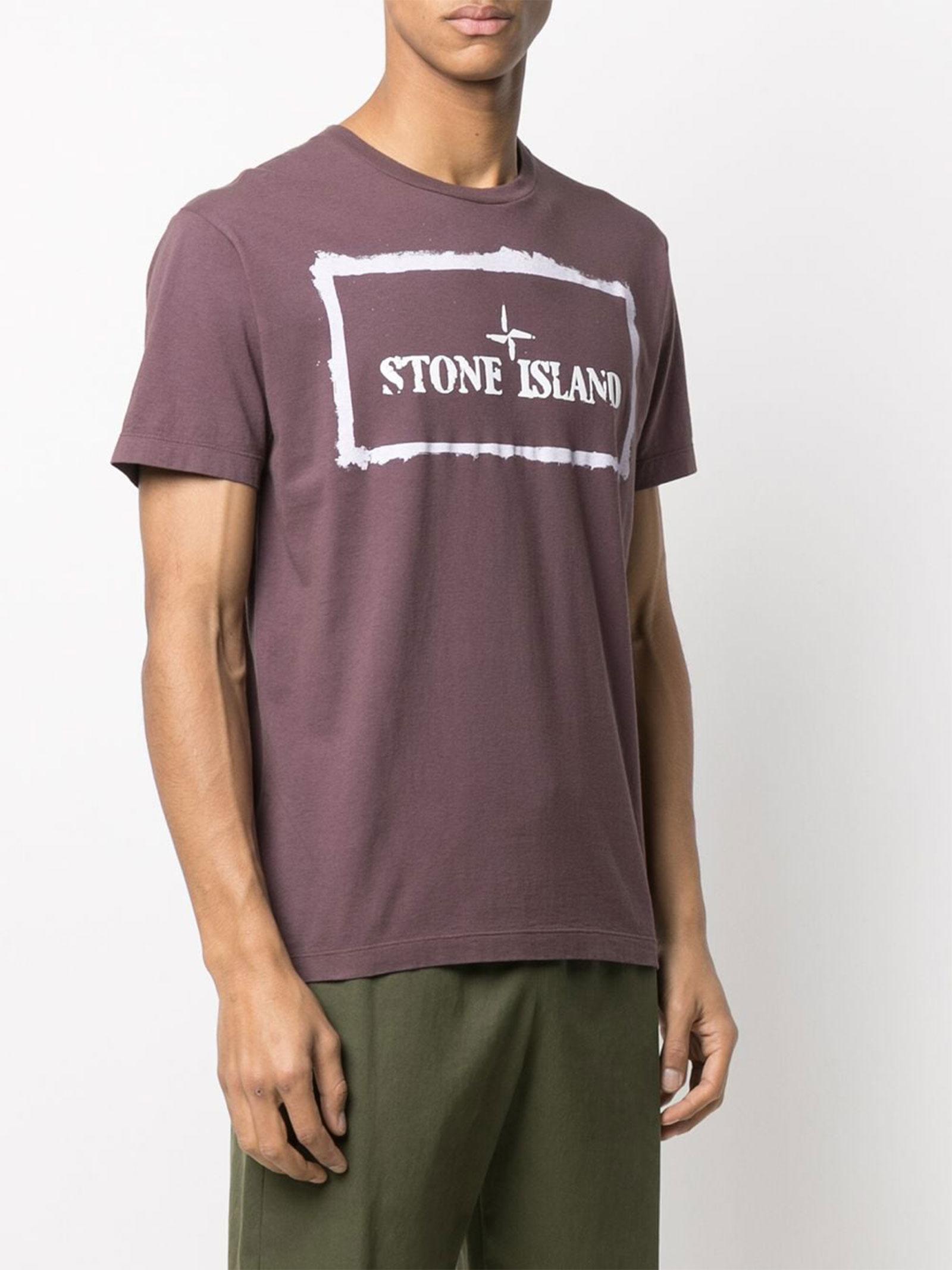 T-shirt stampata Stone Island | T-shirt | 74152NS80V0011