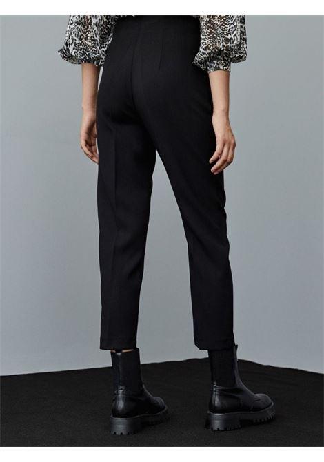 high waisted pants ACC ESS Fashion | Pantalone | 5137-197BLACK
