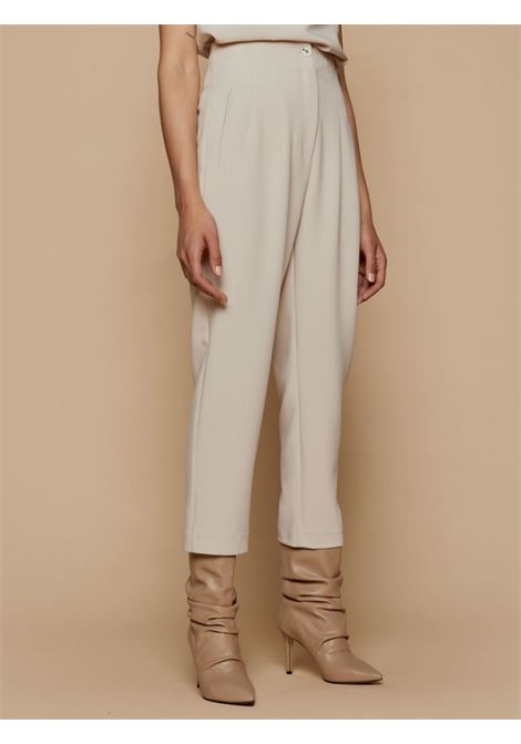 high waisted pants ACC ESS Fashion | Pantalone | 5137-197VANIGLIA