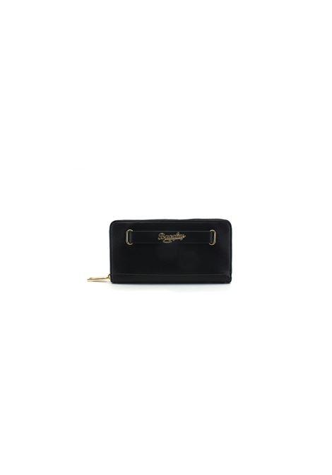Portafoglio con zip Bagghy | Portafogli | B4GC6240Z010TG3NERO