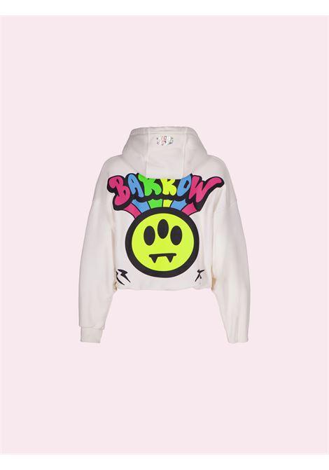 cropped hoodie Barrow   Felpa   030071036